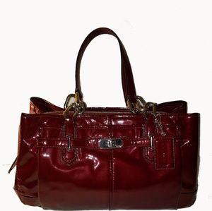 Coach Chelsea Jayden Patent Leather Satchel